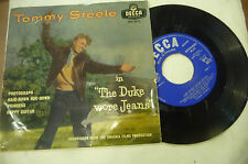 "TOMMY STEELE""THE DUKE WORE JEANS-disco 45 giri EP(4 brani) DECCA UK 1959"" OST"