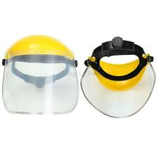 Clear Adjustable Face Mask Shield Visor Safety Workwear Eye Protection Gardening
