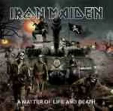 Iron Maiden-A Matter of Life and Death  limited edition cd and dvd