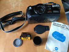 MINOLTA FREEDOM ZOOM 105i 35mm Camera with Bag, Instr Manual, roll of film