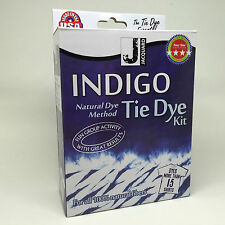 Jacquard Indigo Tie Dye Kit Dyes upto 15 Shirts Craft Denim Gift Party