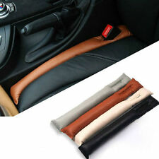Truck Auto Car Seat Gap Spacer Filler Soft Pad Stop Holster Blocker Leather New