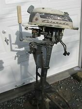1964 Vintage Evinrude Lightwin Outboard Motor 3 HP Parts/Restore LQQK!
