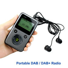 New PPM001 Portable Pocket DAB /DAB+ Radio FM Stereo Receiver TF Card MP3 Player
