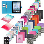 For Apple iPad 2 3 4 5 6 mini Air 360 Rotating Folio Stand Leather Case Cover