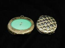 2 Vintage Makeup Compacts With Mirror The Round Lot 123