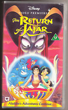 DISNEY - ALADDIN - THE RETURN OF JAFAR - VHS PAL (UK) VIDEO