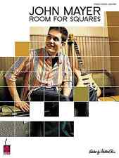 JOHN MAYER - ROOM FOR SQUARES GUITAR VOCAL SONG BOOK