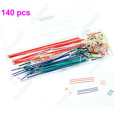 Breadboard Jumper Cable Wire Kit For Arduino Shield 140 pcs U Shape Solderless