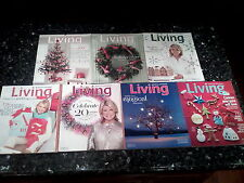 Martha Stewart Living December Christmas Holiday Issues 2004-2013 lot