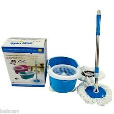 QQ Mini Spin Mop (Blue)