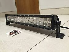 "BARRA Luminosa Luce LED 120w 22"" Spot Flood Lampada OFF ROAD 4x4 Land Rover Defender"