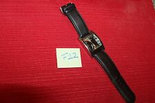 VERY NICE ALDO BLACK WATCH F22 WORKS