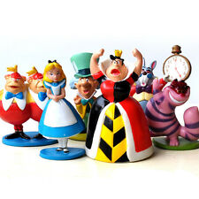 MINI ALICE IN WONDERLAND PVC Cake Toppers Figure Toy 6pcs ZH140