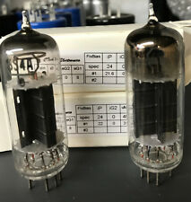 (2) RCA Black Plate 6S4A  - Amplitrex AT-1000 Matched Pair- Rare -For Woo Audio