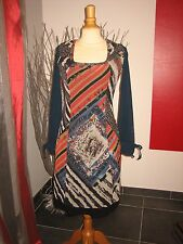 RARE ROBE DRESS SPORTS D' HIVER ST MORITZ SAVE THE QUEEN T L 38 40 UK 10 12