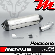 Silencieux Pot échappement Remus Hexacone inox sans cat BMW K 1200 R 2006
