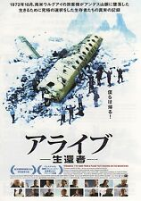 Stranded: I've Come from a Plane... - Original Japanese Chirashi Mini Poster
