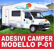 KIT ADESIVI CAMPER P01 STICKERS TUNING ARCA LAIKA MC LOUIS ELNAGH RIMOR IVECO