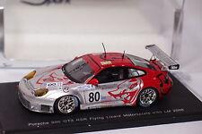 SPARK PORSCHE 996 GT3 RSR FLYING LIZARD MOTORSPORTS #80 LE MANS 2006 1/43