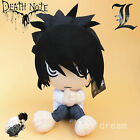 JP Anime Death Note L Lawliet Plush Character Doll Toys 12'' Cosplay Kids Gift