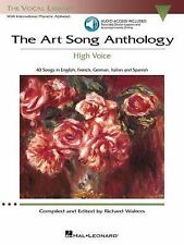 The Art Song Anthology - High Voice : 40 Songs in English, French, Germany,...