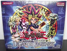 Legacy of Darkness Yugioh Ultd English Edition 36 Pack Booster Box  - NEW SEALED