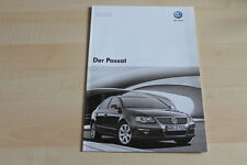 79425) VW Passat - technische Daten & Ausstattungen - Prospekt 10/2007