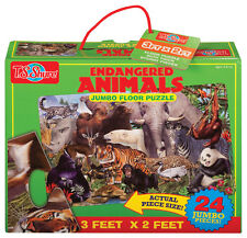 T.S Shure Endangered Animals Jumbo Floor Puzzle TS1136