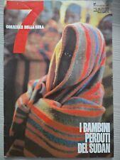 """RIVISTA """"7"""" SETTE - SUPPLEMENTO DEL CORRIERE DELLA SERA N. 26 - 1992"""