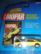 JOHNNY LIGHTNING MOPAR 1968 DODGE CHARGER R/T YELLOW UNOPENED