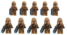 LEGO® Star Wars™ Geonosis Clone Trooper & Airborne Minifigures Lot of 10 - 75089
