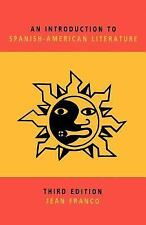 An Introduction to Spanish-American Literature-ExLibrary