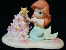 zd Precious Moments-Disney-Ariel-Little Mermaid-Part Of My Christmas World
