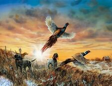 Opening Day by Jim Hansel, Hunting, Pheasant, Print 13x17