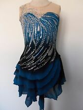 CUSTOM FIT FIGURE ICE SKATING BATON TWIRLING DRESS