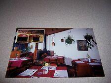 1980s VENICE RESTAURANT INTERIOR ANTIGONISH NOVA SCOTIA VTG POSTCARD