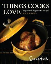 Things Cooks Love Implements, Ingredients, Recipes Simmons Sur la table $35 NEW!