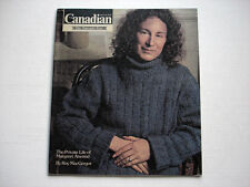 Canadian poet MARGARET ATWOOD on cover THE CANADIAN magazine September 25 1976