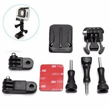 Adjustable Helmet Curved Adhesive Side Mount for GoPro Hero 4 3+ 3 2 1 Camera
