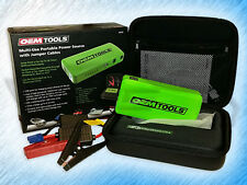 OEM TOOLS 24370 MULTI-USE PORTABLE POWER SOURCE W/ JUMPER CABLES + USB CABLE
