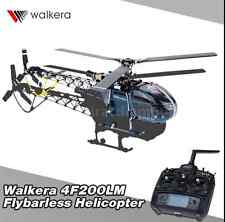 Walkera 4F200LM 2.4G 3D 6CH 3Axis RC Flybarless Helicopter w/ Devo 7 Transmitter