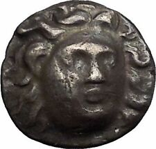 RHODES Rhodos Island Caria 304BC Helios Rose Ancient Silver Greek Coin i49082