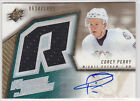 2005 05-06 SPx #171 Corey Perry Jersey Autograph RC Rookie 634/1499