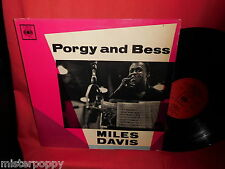 MILES DAVIS Porgy and Bess LP UK 1959 VG++ MONO CBS BPG62108