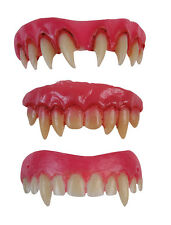 Vampire Teeth Dental Veneers Fangs Vampiress Dracula Halloween Fancy Dress