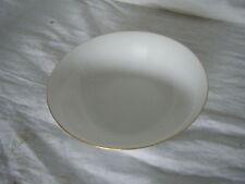 C4 Porcelain Harmony White Gold Rim Bowl Rimmed 17cm 1A3G