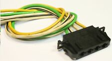 VW BORA GOLF MK4 GTI TDI BLOWER FAN MOTOR RESISTOR WIRE LOOM & PLUG 1J0 972 754