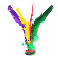 Colorful Feather Chinese Jianzi Kicking Shuttlecock Foot Exercise Outdoor Game
