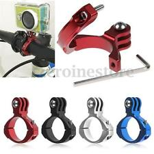 Bike Bicycle Aluminum Handlebar Bar Clamp Mount For Gopro Hero 3+/3/2/1 Camera
